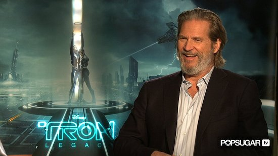 jeff bridges tron legacy. Jeff Bridges Talks Tron Legacy