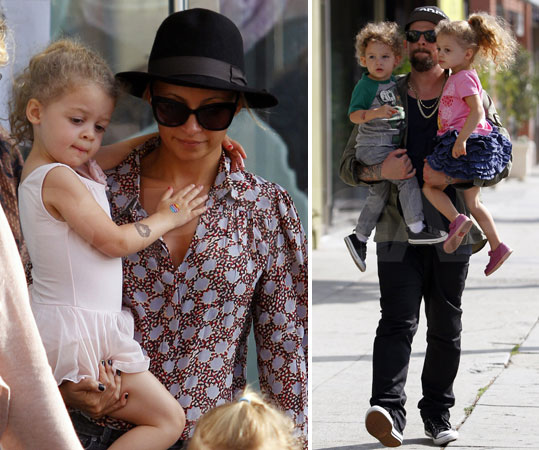 Nicole Richie: On the Road with Harlow & Sparrow!: Photo 2536710 ...
